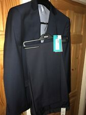 Marks & Spencer mens 2 piece suit indigo 38 long