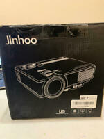 Jinhoo Mini Overhead Projector Full HD 1080P Supported, Home Theater Outdoor
