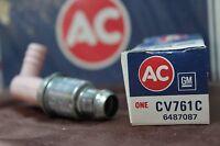 Vintage Nos and Nors AC DELCO PCV VALVE CV761C - 6487087