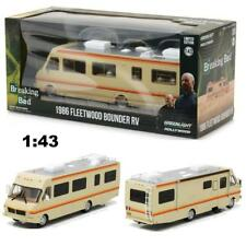 GREENLIGHT 86500 1986 FLEETWOOD BOUNDER RV BREAKING BAD DIECAST MODEL 1:43 NEW!!