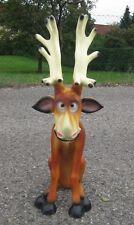 Rentier Rudi 100 cm Rudolf Deko Figur Weihnachtsdekoration Weihnachten neu Elch