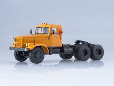 Truck tractor KRAZ-258B1, scale model cars 1:43