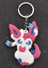 Pokemon Sylveon Rubber Keychain 2.5 Inches US Seller