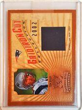2002 Tom Brady Gridiron Cut Jersey Card #/400