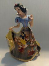 Disney Bradford Exchange Porcelain Collectors Princess Bell Snow White 2004