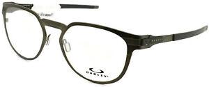 Oakley Diecutter Eyeglasses Pewter Frames OX3229-0252 Clear lenses 52mm