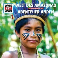 WAS IST WAS - FOLGE 63: WELT DES AMAZONAS & ABENTEUER ANDEN CD NEW