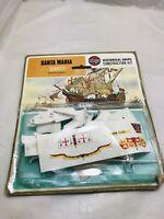 Airfix Series 1 Santa Maria Ship. Vintage 1973 Sealed historical ships