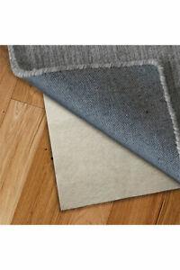 RUG TO CARPET Anti Slip Slide Rug Runner Underlay for All Floors small - Large