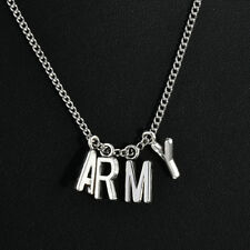 Army Necklace Women Men Love Yourself New Kpop Bangtan Boys Fan Club