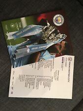 2017/18 Premier League Manchester City vs Chelsea Programme  04-Mar.2018