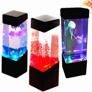 Acquario Medusa Serbatoio Umore Luci Stile rilassante Colore Oceano LED Lampada