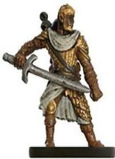 D+D miniatures 1x x1 Human Fighter Dungeons of Dread NM with Card