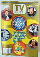 TV Guide Magazine May 4-10 2002 -Ultimate List Of 50 Best Tv Series - M249