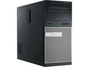 Dell Optiplex 7010 Mini Tower i7-3770 3.40GHz 8GB RAM 128GB SSD Windows 10 Pro