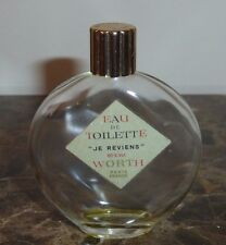 Lalique Worth Je Reviens 30 ml Empty Perfume Bottle
