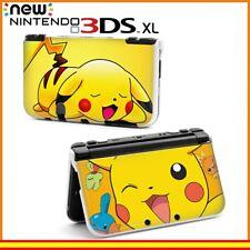 Funda Protector Nintendo New 3DS XL Carcasa Dibujos Pokémon Pikachu Guiño