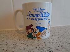 Walt disney Snow white and the seven dwarfs - Video release promo mug / cup