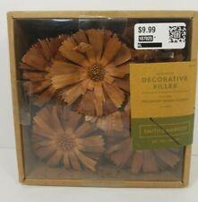 """Unscented preserved wood flower Vase Bowl Decor Filler Natural Smith & Hawkenâ""""¢"""
