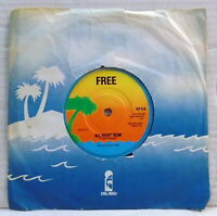 Free All right now Wishing well My brother Jake vinyl 45 RPM record IEP 6