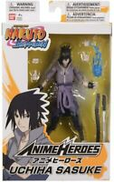 Bandai Naruto Shippuden Anime Heroes Series 6 in Uchiha Sasuke Action Figure NEW