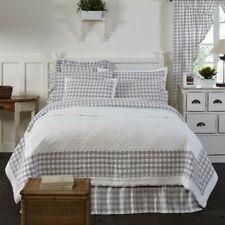 VHC Farmhouse Quilt Annie Buffalo Check Bedding Cotton Buffalo Check Square