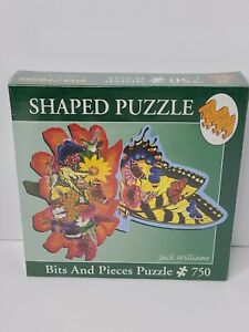 Butterflies Landing Art Jack Williams Bits And Pieces Puzzle 750 New