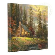 Thomas Kinkade A Peaceful Retreat 14 x 14 Gallery Wrapped Canvas