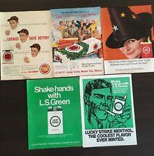 5 niesamowitych reklam Lucky Strike z gazet - lata 50/60 L.S. Green