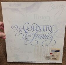 Hallmark American Spirit My Country My Family 50 States Quarter Map Album ^