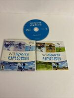 Wii Sports (Wii, 2006) Cardboard Sleeve  ManualTested and Works.