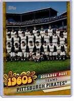 Pittsburgh Pirates 2020 Topps Decades Best 5x7 Gold #DB-21 /10 Pirates