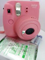 Fujifilm Instax MINI 9 Film Instant Camera Flamingo Piink & 10 shots Film Pack