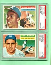 1956 TOPPS  -  Graded Baseball cards  --  U-PICK  -- Complete your set
