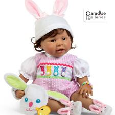 Paradise Galleries Reborn Toddler with Magnetic Pacifier, Hippity Hop, 21 inches