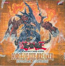 YUGIOH FORCE OF THE BREAKER SPECIAL EDITION BOX BLOWOUT CARDS