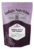Indigo Herbs Organic Nettle Leaf Powder 250g - 1kg 100% Pure Leaf