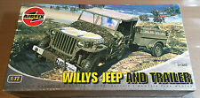 AIRFIX 01322 - 1/72 WILLYS JEEP AND TRAILER - NUOVO