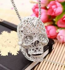 Necklace #/Ae Crystal Skeleton