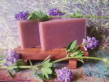 100% Natural Certified Organic Herbal Bar Soap Luscious Lavender 4.2oz Vegan