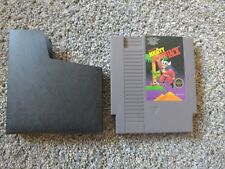 ORIGINAL NINTENDO NES GAME MIGHTY BOMB JACK WITH SLEEVE & 30 DAY GUARANTEE