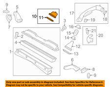 PORSCHE OEM 12-16 Panamera 3.0L-V6 Air Cleaner Intake-Lid 97011026510