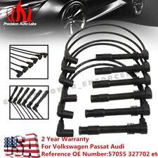57055 Spark Plug Wire Set For VW Passat Audi A4 A6 A4 Quattro V6 2.8L 1997-2005