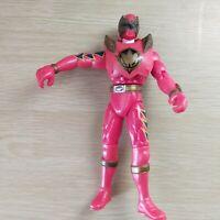 "6"" Figure 2003 Bandai Red Ranger Power Rangers Dino Thunder Punching Action"