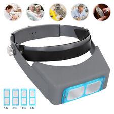 Headband Magnifier Head Magnifier Hands Free Magnifying Glass Optivisor