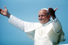 Pope John Paul II Arms Aloft Color 11x17 Mini Poster