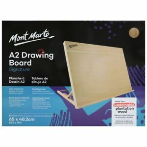 Mont Marte Drawing Board / Easel  With Elastic Band A2