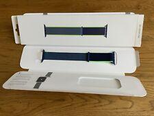 Genuine Apple Watch Sport Loop Neon Lime 44mm