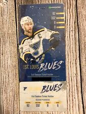 Stanley Cup Champion St. Louis Blues 2018-2019 Season Ticket Holder Ticket Card