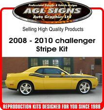 DODGE CHALLENGER  RT STRIPE, GRAPHIC  2008 2009 2010  R/T reproduction